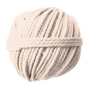 Tejido de algodón para pared 50 m Ø 2,5 mm