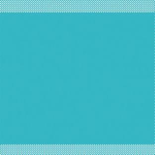 Feuilles Scrapbooking Sweet Rosace bleu azur