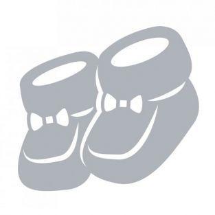 Matrice de découpe naissance - Chaussons 5,7 x 5,2 cm