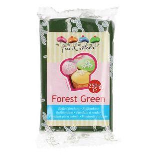 Pasta de azúcar 250 g - Verde abeto