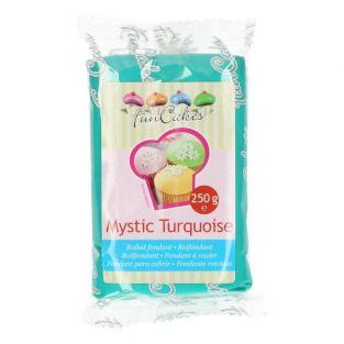Sugar paste 250 g - turquoise blue