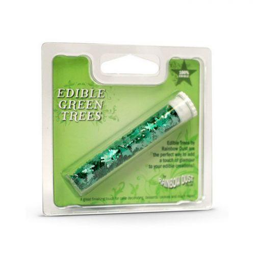 Edible glitter - Christmas trees