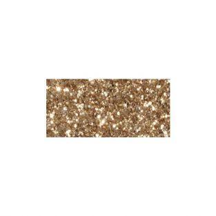 Masking tape à paillettes 5 m x 15 mm - doré pâle