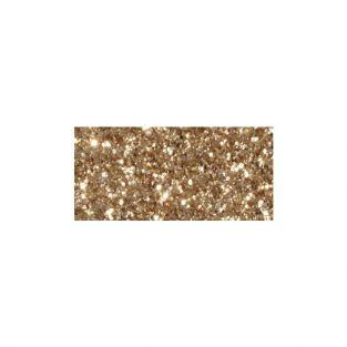 Masking tape 5m x 15 mm with glitter - light gold