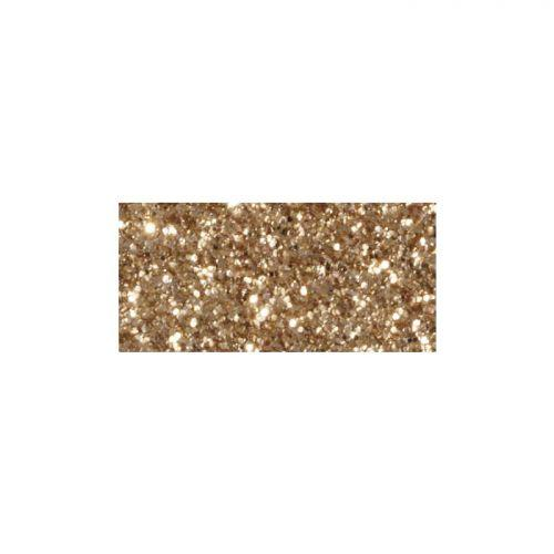 Masking tape 5m x 15 mm with glitter - light gold