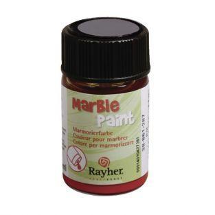 Peinture à marbrer 20 ml - Argent