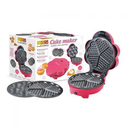 Gofrera - Máquina para hacer gofres y cupcakes