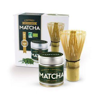Caja regalo de Navidad - descubrimiento del té Matcha