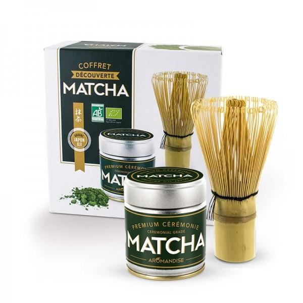 coffret de no l d couverte du th matcha avec fouet en bambou. Black Bedroom Furniture Sets. Home Design Ideas