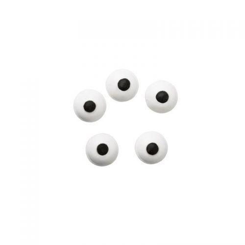 56 decoraciones de azúcar - Ojos 1 cm