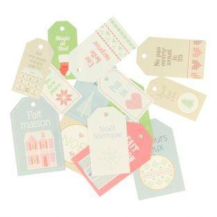 15 etiquetas de Navidad - Home Sweet Home