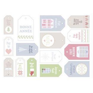 15 étiquettes de Noël - Home Sweet Home