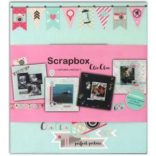 Coffret Mon album photo DIY - Clic Clac