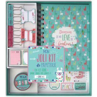 Kit de papeleria para scrapbooking - bonita Llama