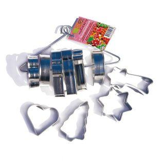 10 stainless steel cookie cutters - Christmas cookies