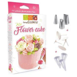 Set de pastelería - Pastel flor