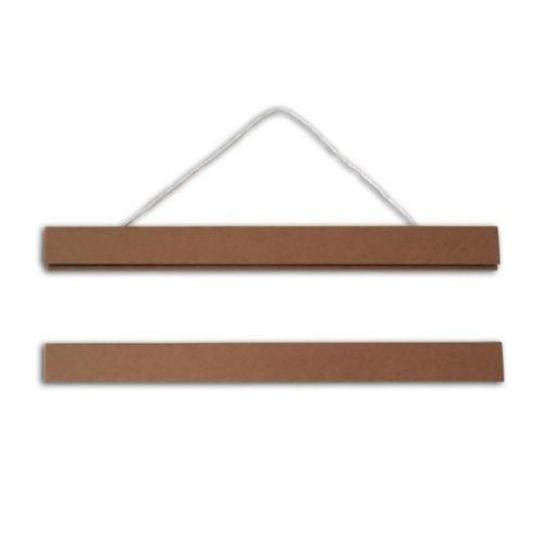2 baguettes magnétiques pour affiche ou poster 21 cm