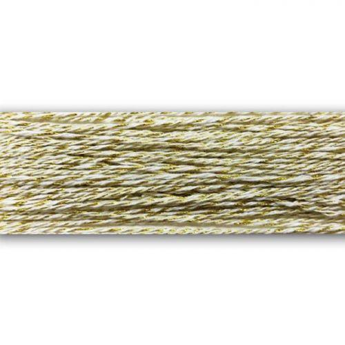 Baker's twine 100 m - gold and white