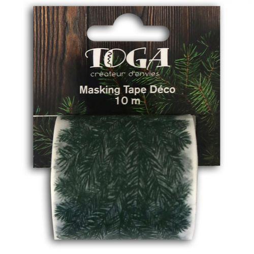 Masking tape large fir effect - 10 m x 5 cm