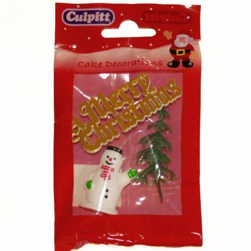 Decoraciones para pasteles de navidad feliz navidad dorada for Decoracion de deptos pequenos fotos