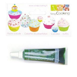 Liquid food coloring - tube 20 g - Green