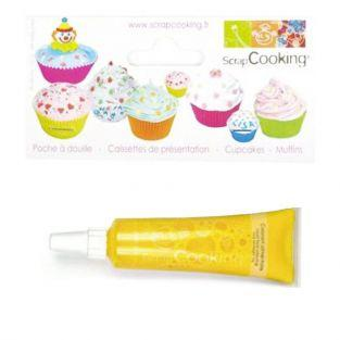 Liquid food coloring - tube 20 g - Yellow