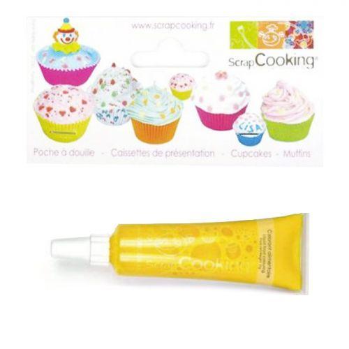 Liquid food coloring - tube 20 g - Yellow