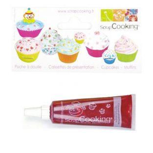 Colorante alimentario líquido - tubo 20 g - rojo