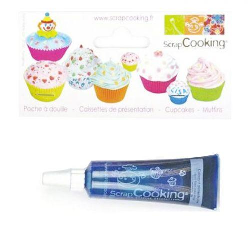 Colorant alimentaire liquide - tube 20 g - Bleu