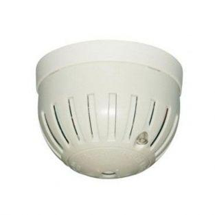 Mini optical smoke detector with battery