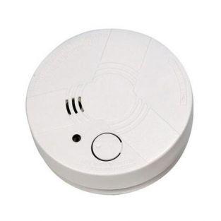 Détecteur de fumée optique à pile - Signal sonore - Norme CE
