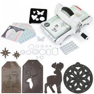 Kit máquina de recortes Sizzix Big Shot Edición Navidad
