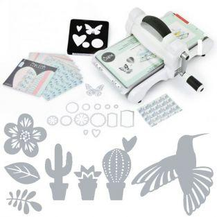 Kit máquina de corte Sizzix Big Shot edición Tropical