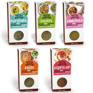 5 mélanges d'épices santé