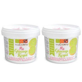 Preparation for light green royal icing 380 g
