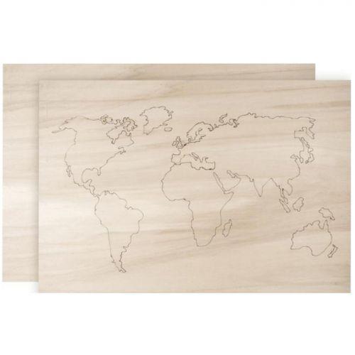 de madera para decorar 42 x 29,7 cm