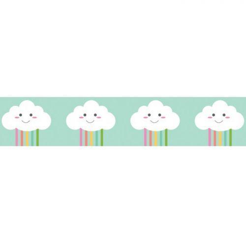 Washi tape 10 m x 1,5 cm - Nubes pequeñas