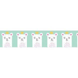 Washi tape 10 m x 1,5 cm - Pequeña princesa