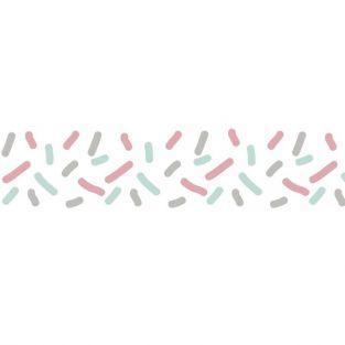 Washi tape 10 m x 1,5 cm - Llovizna