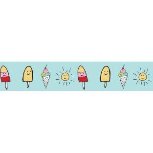 Masking tape 10 m x 1.5 cm - Ice cream