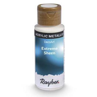 Peinture acrylique métal en spray 59 ml - bleu saphir