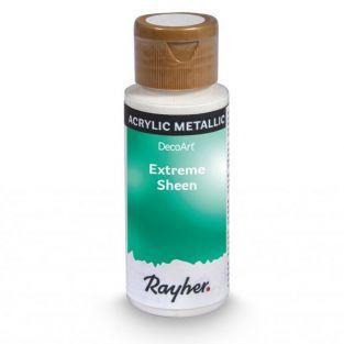 Peinture acrylique métal en spray 59 ml - bleu-vert