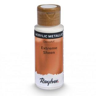 Peinture acrylique métal en spray 59 ml - cuivré