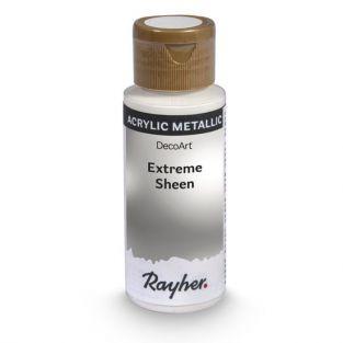 Peinture acrylique métal en spray 59 ml - argenté