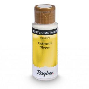 Peinture acrylique métal en spray 59 ml - doré
