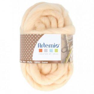 Thick wool 10 m - 70 g - old pink