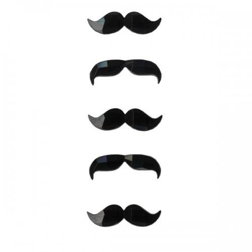 Mustaches stickers
