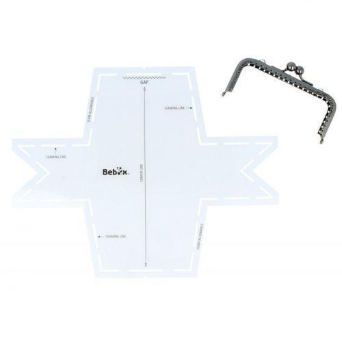 DIY rectangular Wallet template + clasp
