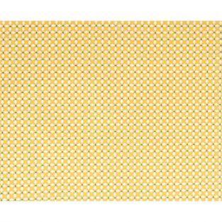 Coupon de tissu 55 x 45 cm - Croix jaunes