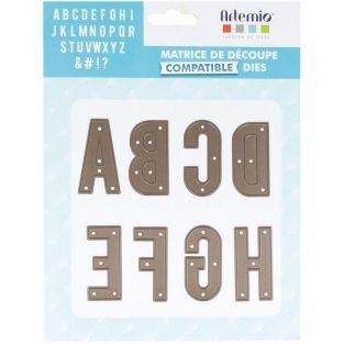 Matrice de découpe alphabet majuscule - 4,8 cm